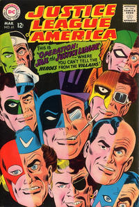 Cover Thumbnail for Justice League of America (DC, 1960 series) #61