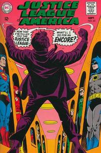 Cover Thumbnail for Justice League of America (DC, 1960 series) #65