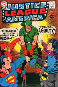 Cover Thumbnail for Justice League of America (DC, 1960 series) #69