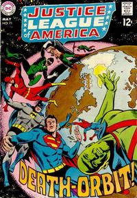 Cover Thumbnail for Justice League of America (DC, 1960 series) #71