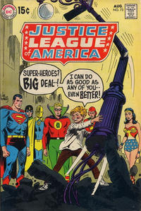 Cover Thumbnail for Justice League of America (DC, 1960 series) #73