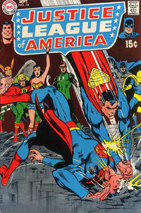 Cover Thumbnail for Justice League of America (DC, 1960 series) #74