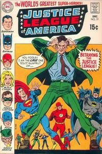 Cover Thumbnail for Justice League of America (DC, 1960 series) #77