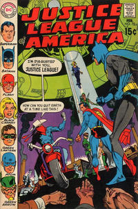 Cover Thumbnail for Justice League of America (DC, 1960 series) #78