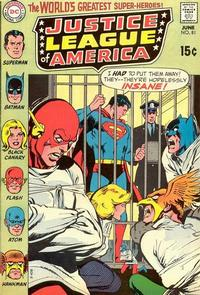 Cover Thumbnail for Justice League of America (DC, 1960 series) #81