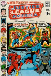 Cover Thumbnail for Justice League of America (DC, 1960 series) #82