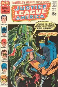 Cover Thumbnail for Justice League of America (DC, 1960 series) #87