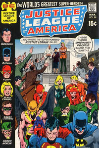 Cover Thumbnail for Justice League of America (DC, 1960 series) #88