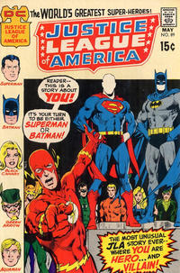 Cover Thumbnail for Justice League of America (DC, 1960 series) #89