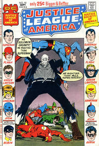 Cover for Justice League of America (DC, 1960 series) #92