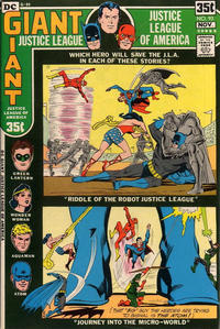 Cover Thumbnail for Justice League of America (DC, 1960 series) #93