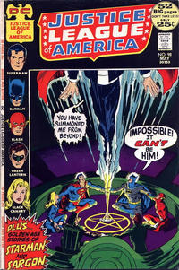 Cover for Justice League of America (DC, 1960 series) #98