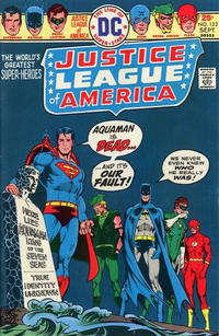 Cover Thumbnail for Justice League of America (DC, 1960 series) #122