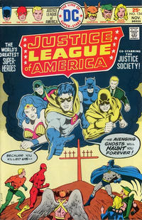 Cover Thumbnail for Justice League of America (DC, 1960 series) #124