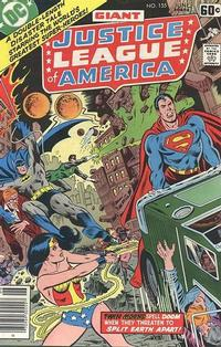 Cover for Justice League of America (DC, 1960 series) #155