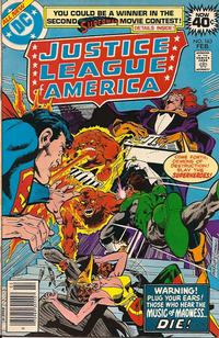 Cover Thumbnail for Justice League of America (DC, 1960 series) #163 [Regular Edition]