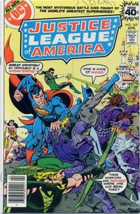 Cover for Justice League of America (DC, 1960 series) #165 [Regular Edition]