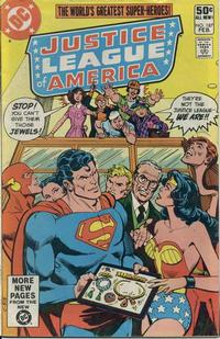 Cover Thumbnail for Justice League of America (DC, 1960 series) #187 [Direct Sales]