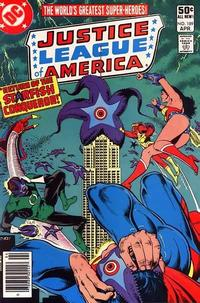 Cover for Justice League of America (DC, 1960 series) #189 [Direct Sales]