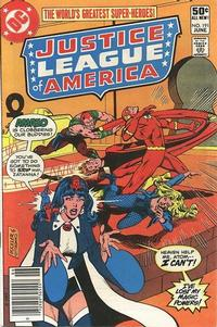 Cover Thumbnail for Justice League of America (DC, 1960 series) #191 [Newsstand]