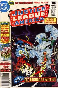 Cover for Justice League of America (DC, 1960 series) #193