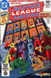 Cover Thumbnail for Justice League of America (DC, 1960 series) #195
