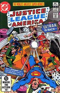 Cover Thumbnail for Justice League of America (DC, 1960 series) #201 [Direct Sales]