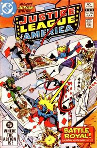 Cover Thumbnail for Justice League of America (DC, 1960 series) #204 [Direct]