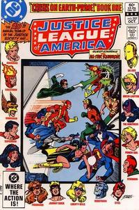 Cover Thumbnail for Justice League of America (DC, 1960 series) #207 [Direct Sales]