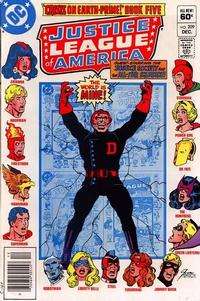 Cover Thumbnail for Justice League of America (DC, 1960 series) #209 [Newsstand]