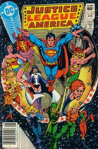 Cover Thumbnail for Justice League of America (DC, 1960 series) #217 [Newsstand]