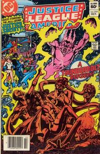 Cover Thumbnail for Justice League of America (DC, 1960 series) #219 [Newsstand]