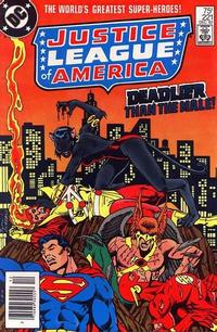 Cover Thumbnail for Justice League of America (DC, 1960 series) #221 [Newsstand]