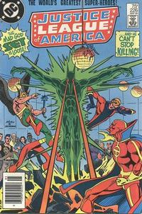 Cover Thumbnail for Justice League of America (DC, 1960 series) #226 [Newsstand]