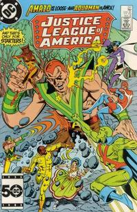 Cover Thumbnail for Justice League of America (DC, 1960 series) #241 [Direct Sales]