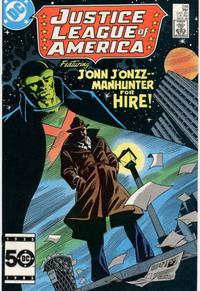 Cover Thumbnail for Justice League of America (DC, 1960 series) #248 [Direct Edition]
