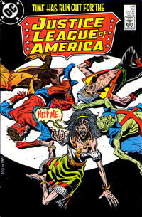 Cover Thumbnail for Justice League of America (DC, 1960 series) #249 [Direct Edition]