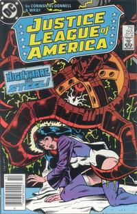 Cover Thumbnail for Justice League of America (DC, 1960 series) #255
