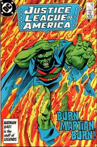 Cover Thumbnail for Justice League of America (DC, 1960 series) #256 [Direct]