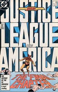 Cover Thumbnail for Justice League of America (DC, 1960 series) #261 [Direct Edition]