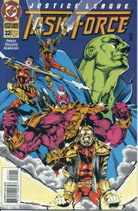 Cover Thumbnail for Justice League Task Force (DC, 1993 series) #22