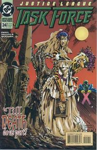 Cover Thumbnail for Justice League Task Force (DC, 1993 series) #24