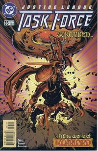 Cover Thumbnail for Justice League Task Force (DC, 1993 series) #35