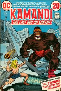 Cover Thumbnail for Kamandi, The Last Boy on Earth (DC, 1972 series) #3