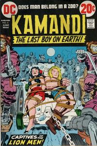 Cover Thumbnail for Kamandi, The Last Boy on Earth (DC, 1972 series) #6