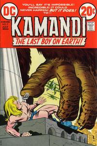Cover Thumbnail for Kamandi, The Last Boy on Earth (DC, 1972 series) #7