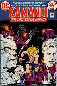 Cover Thumbnail for Kamandi, The Last Boy on Earth (DC, 1972 series) #8