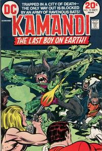 Cover Thumbnail for Kamandi, The Last Boy on Earth (DC, 1972 series) #10