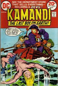 Cover Thumbnail for Kamandi, the Last Boy on Earth (DC, 1972 series) #11