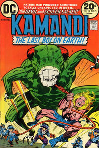 Cover Thumbnail for Kamandi, The Last Boy on Earth (DC, 1972 series) #12